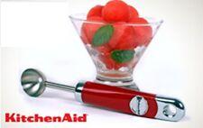 KitchenAid Stainless-Steel Melon Baller, Red