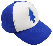 Anime Gravity Falls Dipper Bill BLUE PINE TREE Cosplay Hat Cap Trucker Cartoon