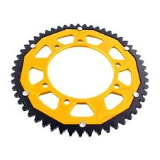 Rear Sprocket Dual 53 Tooth Zfd-1131-53-Gld For Gilera Smt 50 Supermotard