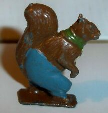 Britains Cococubs Pre-war lead figure of animals this one is Nutty Squirrel