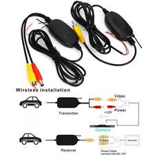 Wireless Video Transmitter Receiver Kit Car Rear View Camera Reverse Backup