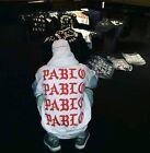 Pablo PARIS TLOP Paris white Hoodies Hood Sweat Shirt White NEW