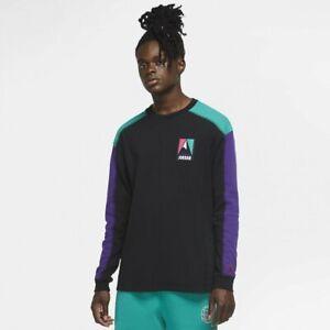Nike Air Jordan Utility Thermal Top Shirt Long Sleeve CT3381-010   Men's L Large