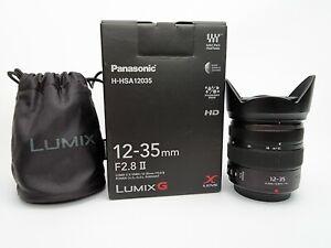 panasonic 12-35 f2.8 II X Vario LUMIX G Olympus camera lens Micro 4/3 H-HSA12035