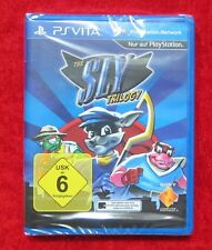 The Sly Trilogy, Sony PSVita Spiel PlayStation Vita, Neu, deutsche Version