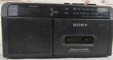 Sony Dream Machine ICF-C610 Cassette Player
