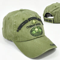 ARMY COMBAT MEDIC OLIVE GREEN CAP HAT LOW PROFILE COTTON NEW MILITARY HEADWEAR
