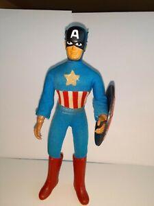 MEGO 1970 Captain America 8 inch Marvel w / original chest star