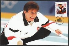 CANADA #2706 - SANDRA SHMIRLER, CANADA'S OLYMPIC GOLD in CURLING - MAXICARD