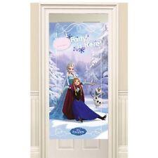 Disney's Frozen ice skating  Birthday Party Door Banner Poster Decoration