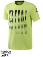 Mens Reebok OSR AC Crew Neck T-Shirt (CF2247) - Large/Celadon