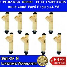 8x PERFORMANCE INCREASE 12 Hole OEM Denso Fuel Injectors 07-08 Ford F150 5.4L