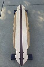 LONGBOARD Solid Wood  - 40 x 9 - Venice - curved wood design