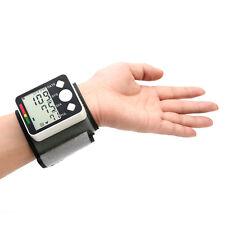 BP628 Wrist LCD Blood Pressure Monitor Meter Sphygmomanometer Cuff NonVoice F#