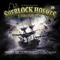 SHERLOCK HOLMES CHRONICLES 20 - DER FALL DER GLORIA SCOTT CD NEW