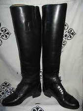 ARIAT Heritage Contour Field Womens Tall Riding Leather Boots 6.5  Made in ITALY