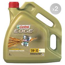 Castrol EDGE Titanium 5W-30 LL Full Synthetic Engine Oil 8 Litres 2 x 4L