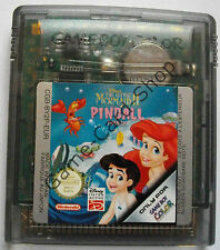 Game Boy-Color-The Little Mermaid II Pinball Frenzy-Seulement Module-D' OCCASION