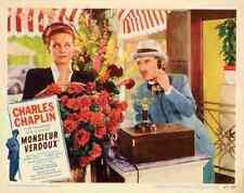 Monsieur Verdoux 09 comprimidos A3 cartel impresión