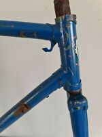Cadre vélo course ancien randonneuse Mercier Bike FRAMESET vintage ! Plié!