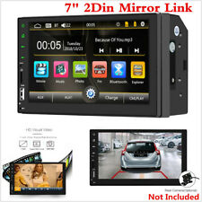"Bluetooth 7"" Car Stereo Radio MP5 MP3 Player Double DIN Touch Screen Head Units"