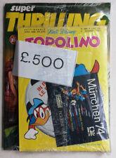 TOPOLINO N 966 BLISTERATO gadget BUSTINA PANINI MUNCHEN 1974 Omaggio IP