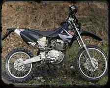 Ajp Pr4 200 Enduro 07 01 A4 Photo Print Motorbike Vintage Aged