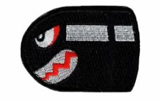 Angry Flying Bullet Bill Old School Retro HOOK Patch