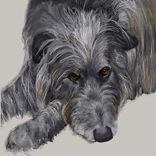 Scottish Deerhound - Fine Art Print