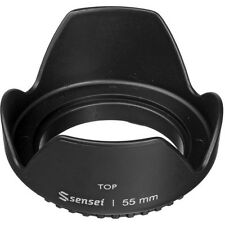 Sensei 55mm Screw-on Tulip Lens Hood