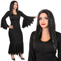 Girls Morbid Witch TV Film Book Day Halloween Horror Fancy Dress Costume Outfit
