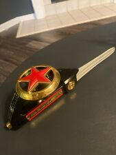 Power Rangers ZEO 7 in 1 Blaster Black Sword Part Cosplay Toy 1996 MMPR