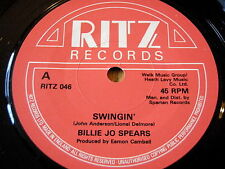 "BILLIE JO SPEARS - SWINGIN'   7"" VINYL"