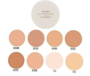 SHISEIDO Spots Cover Full Coverage Concealer Foundation 8 Shades Japan