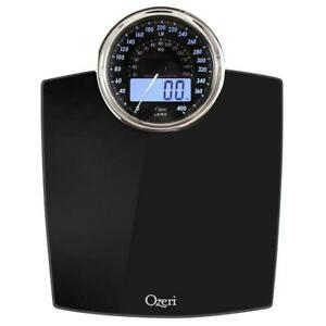 Mechanical Bathroom Scale Digital Body Weight Analog Personal Health 400 Lbs NEW