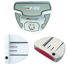 """#1 AIM+ACCURATE F35 TAYLOR FIT MADE WHITE GHOST MANTA BELLY CUSTOM PUTTER 39-49"""""""