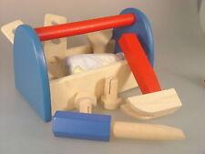 Werkzeugkasten mit Werkzeug - Beeboo Holzspielzeug - ab 24 Monate