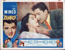 DINO 11X14 SAL MINEO/SUSAN KOHNER original 1957 lobby card movie poster