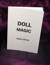 Muñeca Magic Basil Lecroix Crouch. Finbarr Libros. oculta, Vudú, Magia.! Unico!