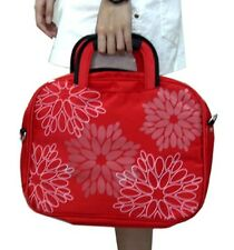 """1 BOX of 7PCS 14"""" Printed Polyester Laptop Computer Carry Case"""