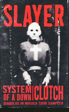 Slayer / Clutch /System Of A Down Diaolus In Musica Tour Sampler USA Cass Single