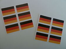 Mini Sticker Pack, Self-Adhesive Germany Flag Labels, FR11