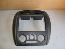 99 MAZDA PROTEGE 1.8L AC CONTROL & RADIO BEZEL WITH AC VENTS