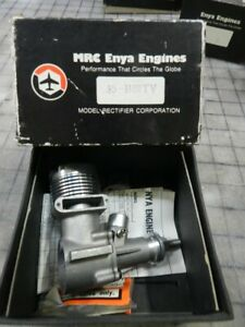 Enya 35 C/L and RC Two stroke Nitro Engine Includes R/c carb Rare Vintage