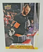 20-21 UD Series 2 Hockey Canvas C185 Sean Couturier NM MINT