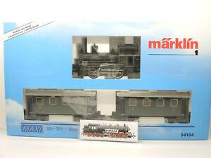 Märklin Maxi 54104 Lokalbahn-Set K.Bay.Sts.B Tenderlok Donauwörth DELTA TOP! OVP