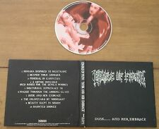 Cradle of Filth Dusk and her embrace - 1996 Limited edition Digipack