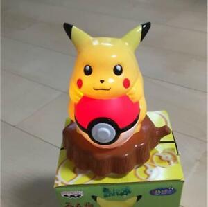 Pokemon Pikachu Banpresto Room Lamp Figure 1998 Vintage Toy  Japan Rare
