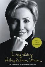 LIVING HISTORY by Hillary Rodham Clinton FREE SHIPPING paperback book memoir