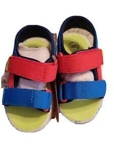 Wonder Nation Baby Colorblock Sport Sandal (Infant Boys size 4
